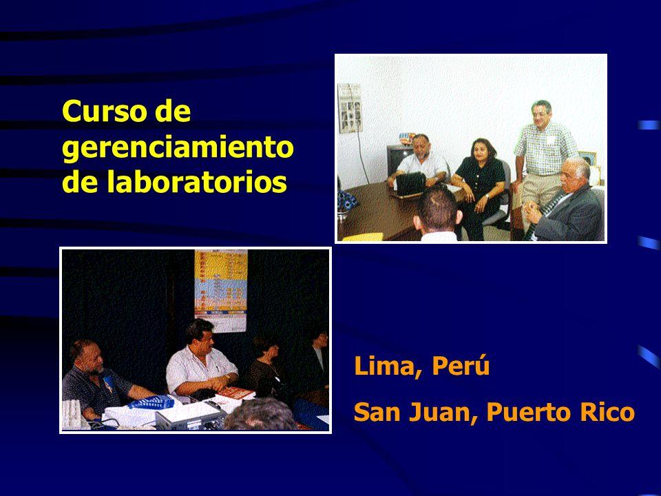 Curso de gerenciamiento de laboratorios