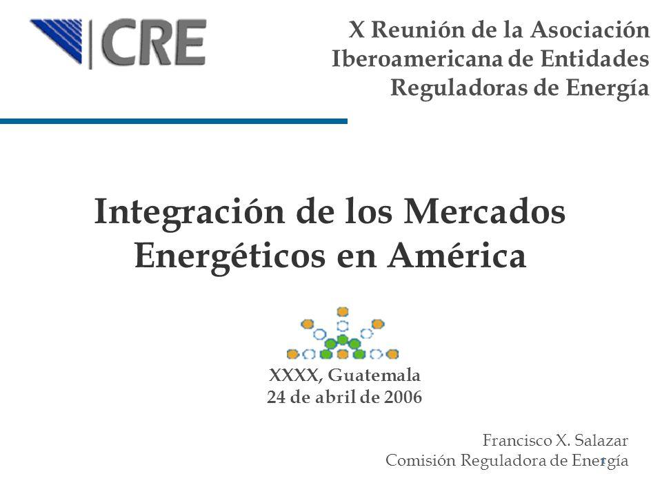 Integración de los Mercados Energéticos en América