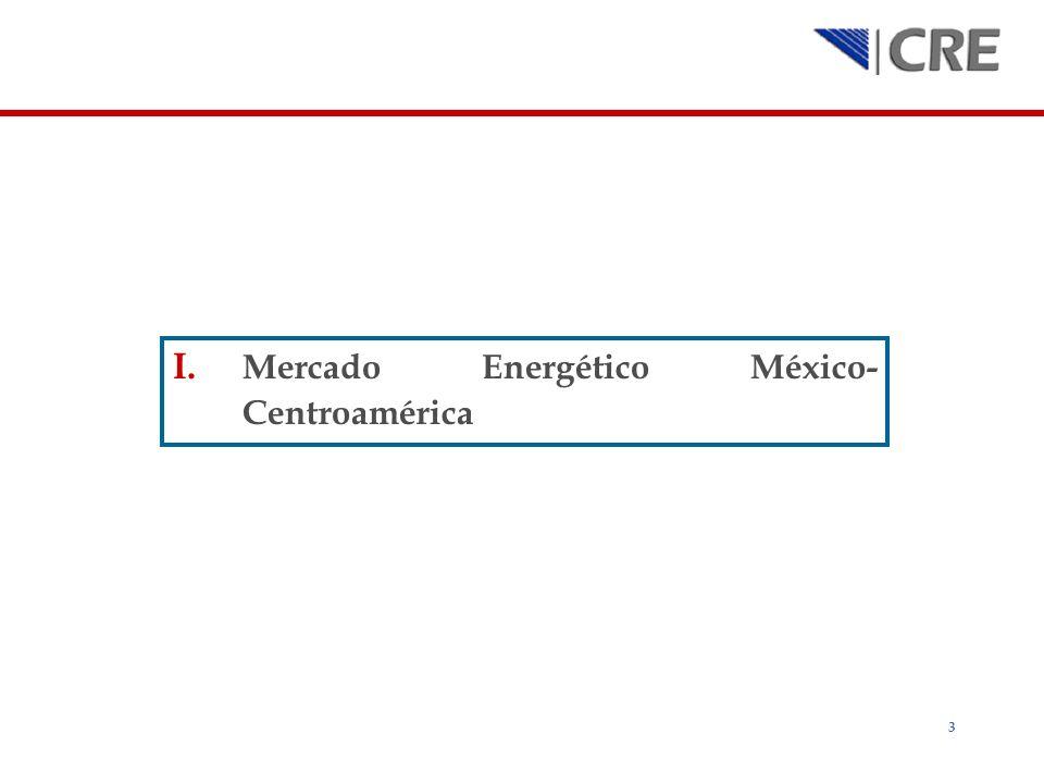 Mercado Energético México-Centroamérica