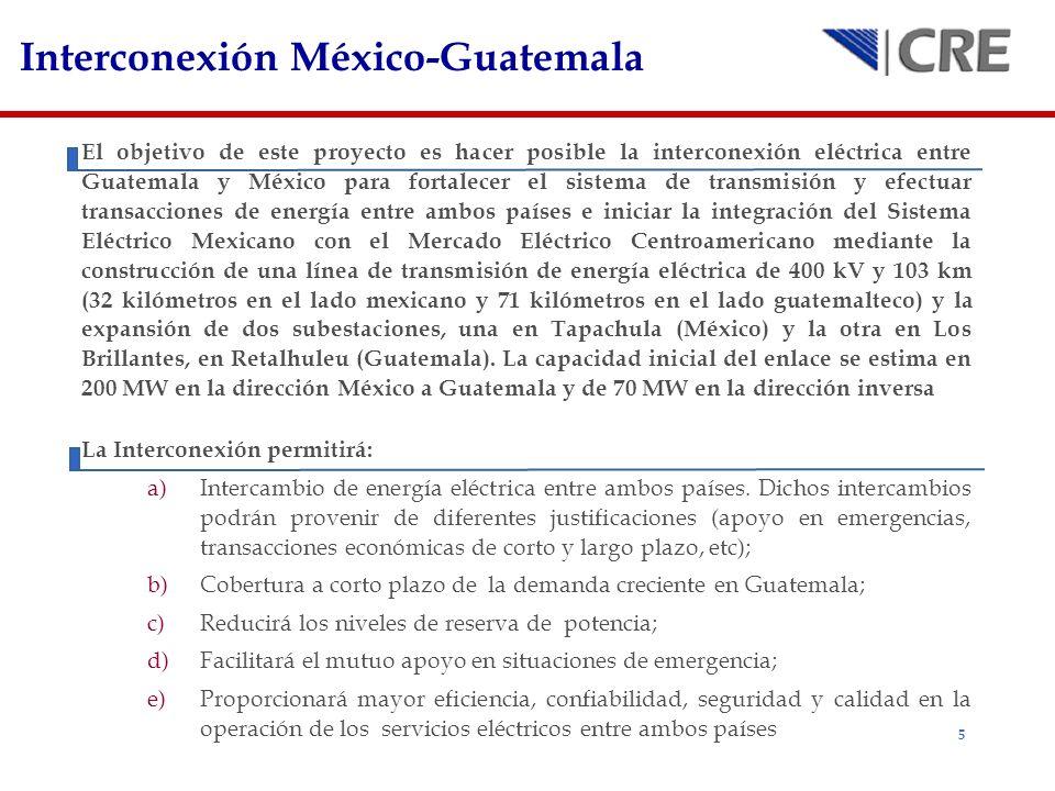 Interconexión México-Guatemala