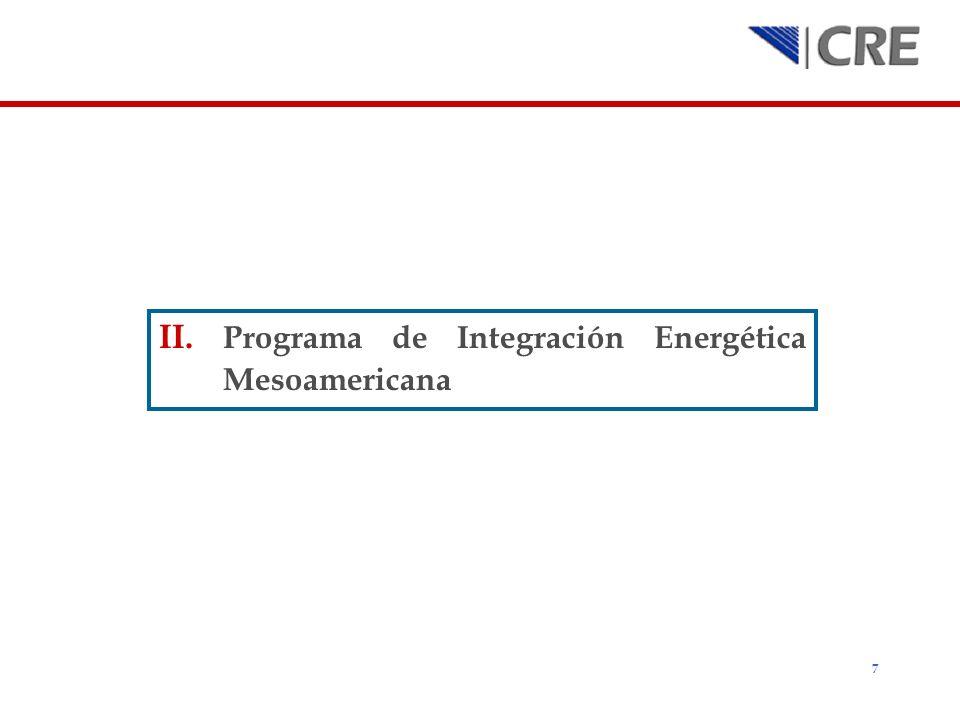 Programa de Integración Energética Mesoamericana