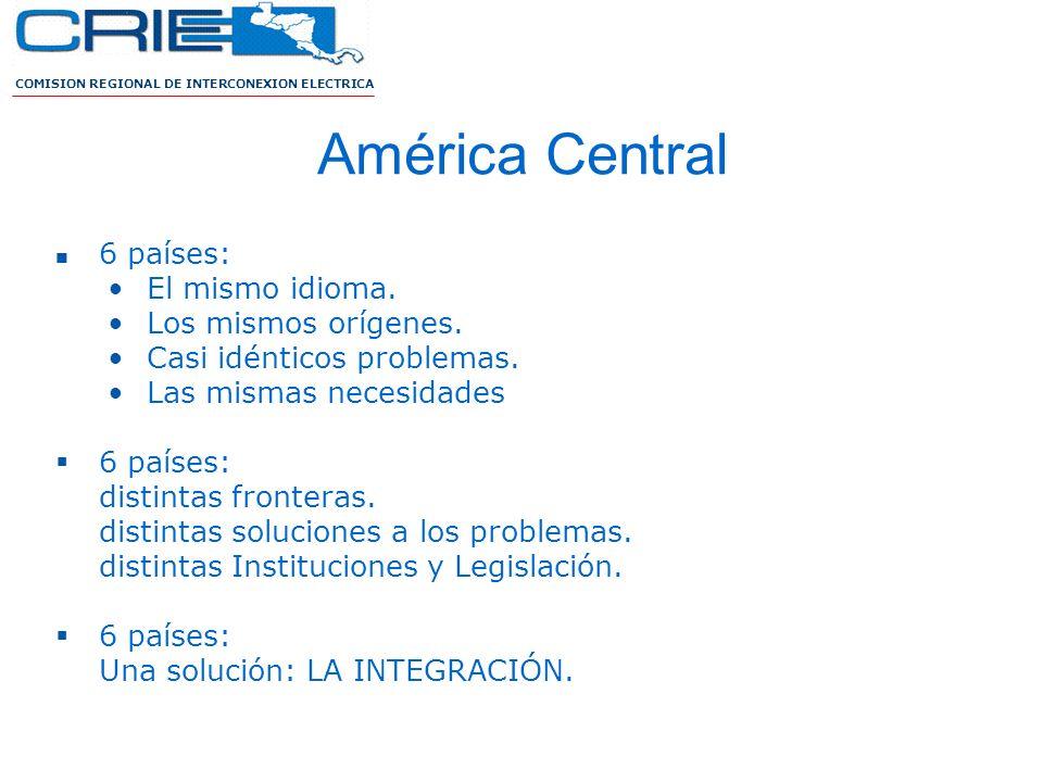 América Central 6 países: El mismo idioma. Los mismos orígenes.