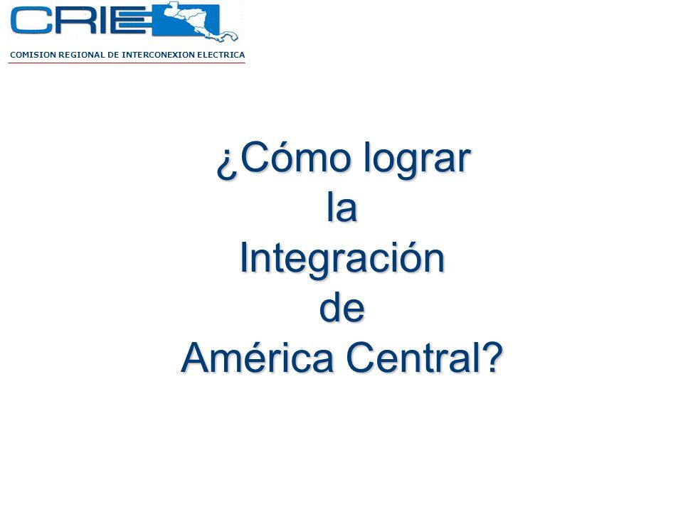 ¿Cómo lograr la Integración de América Central