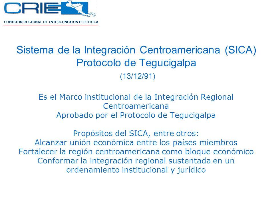 COMISION REGIONAL DE INTERCONEXION ELECTRICA