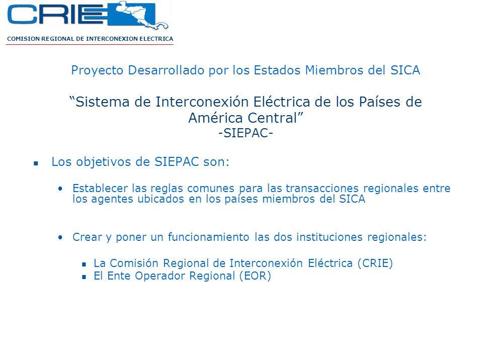 Sistema de Interconexión Eléctrica de los Países de América Central