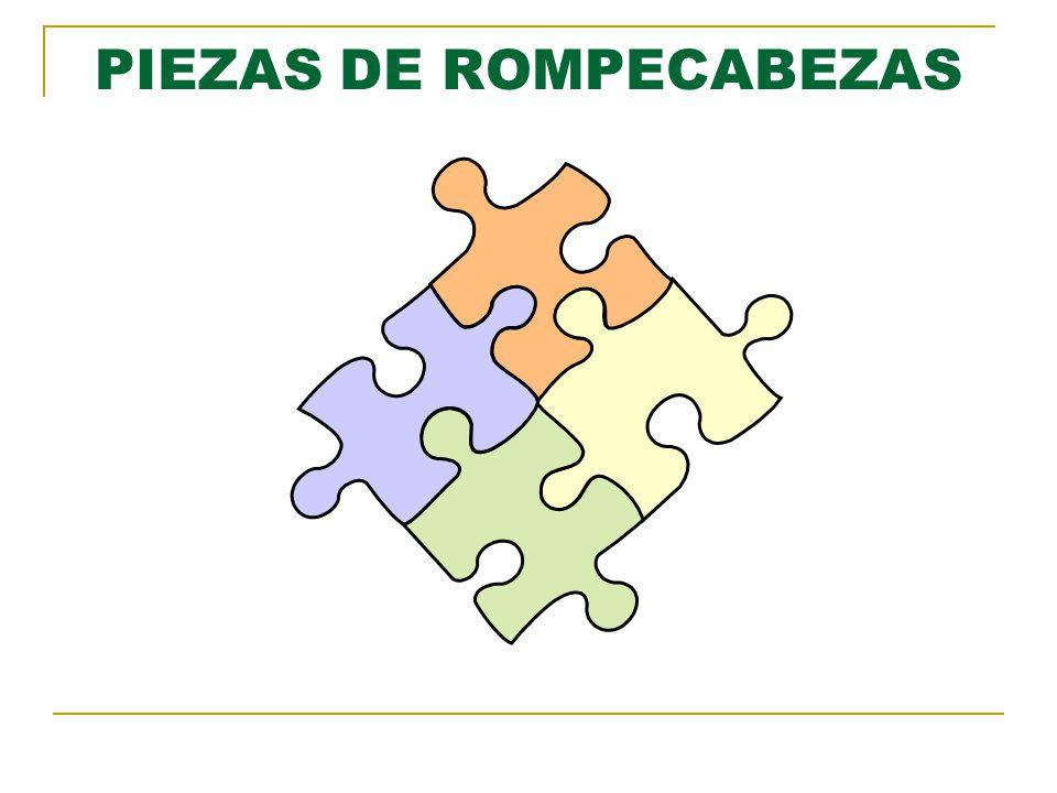 PIEZAS DE ROMPECABEZAS