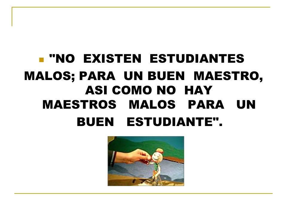 NO EXISTEN ESTUDIANTES