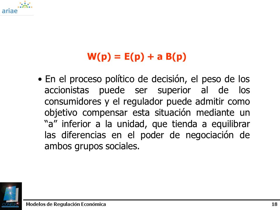 W(p) = E(p) + a B(p)