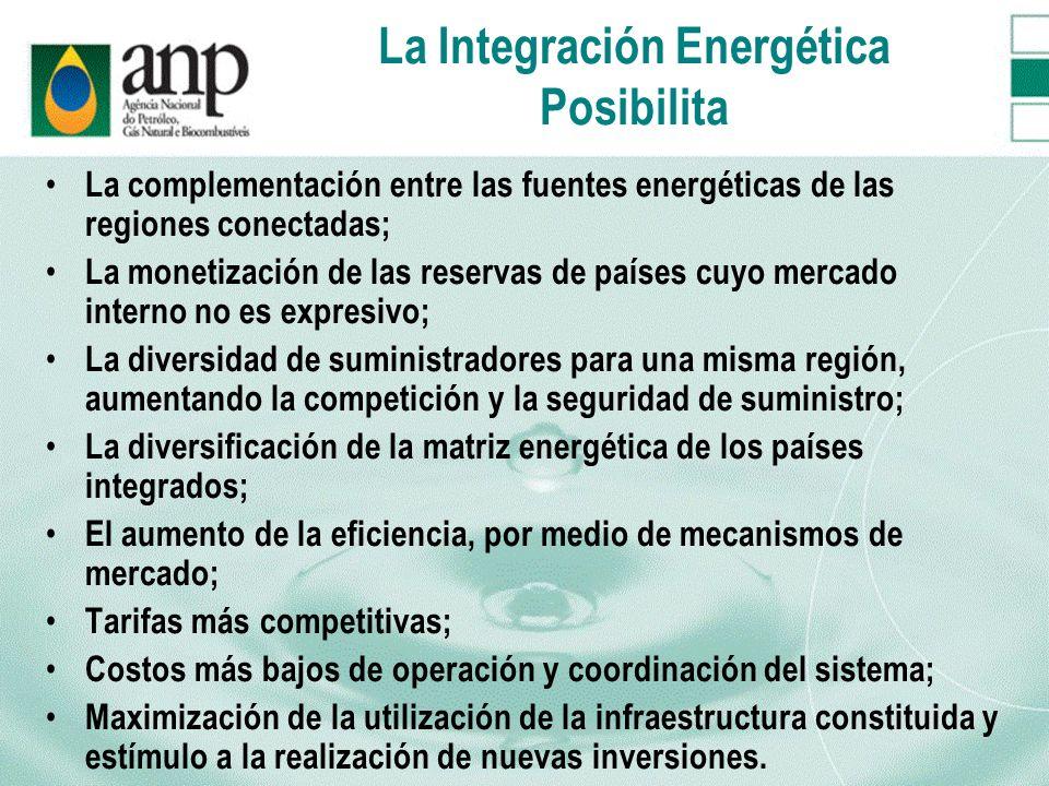 La Integración Energética Posibilita