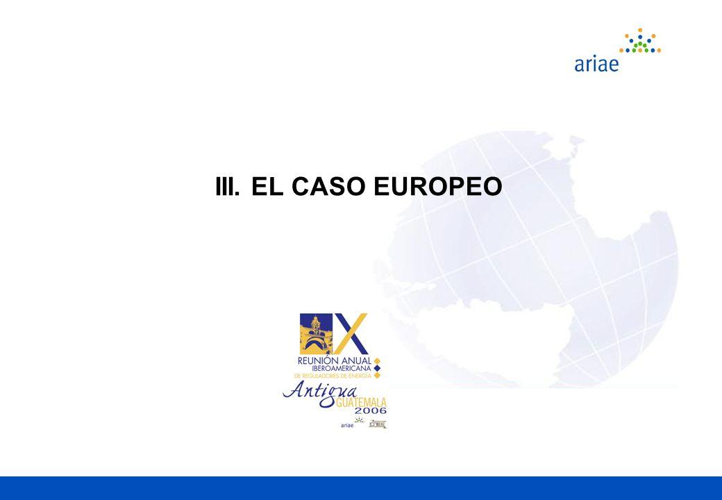 III. EL CASO EUROPEO