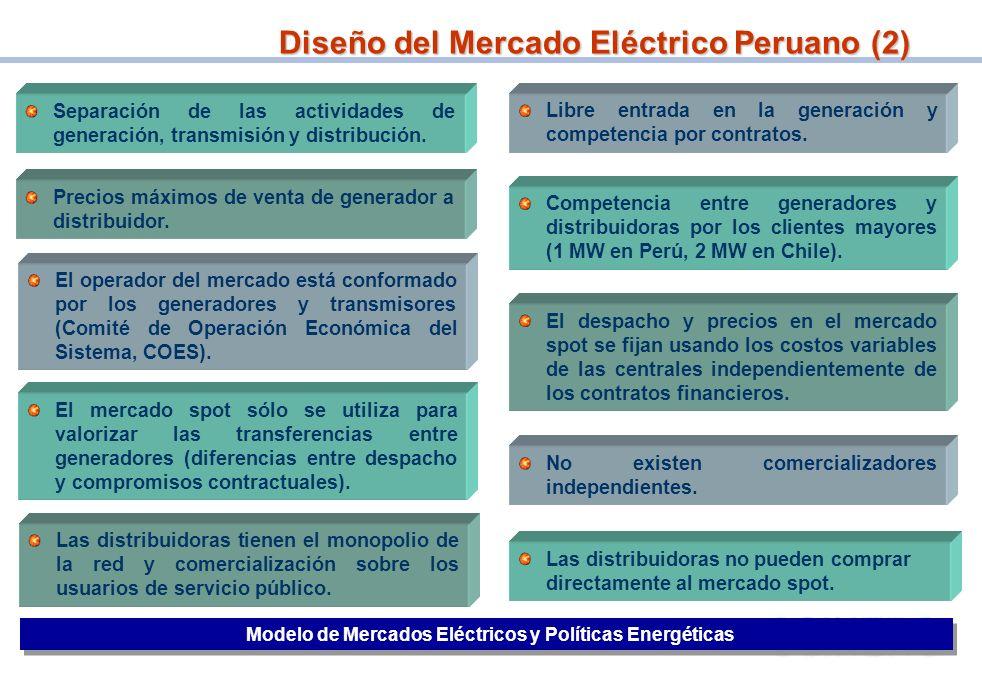 Diseño del Mercado Eléctrico Peruano (2)