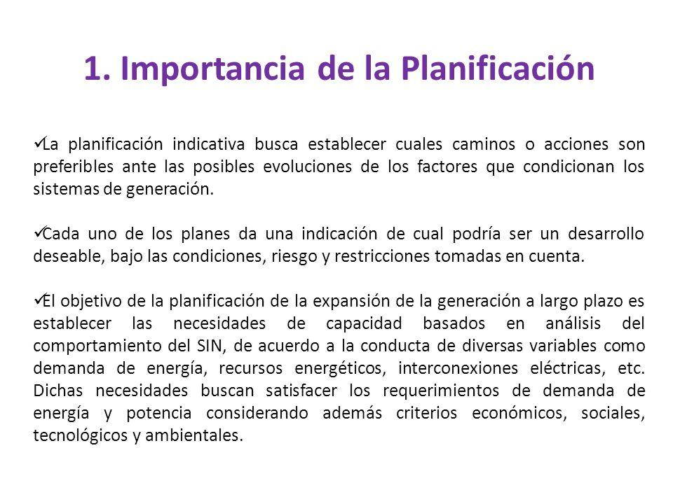 1. Importancia de la Planificación