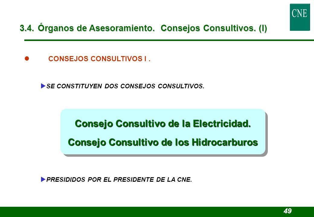 Consejo Consultivo de la Electricidad.