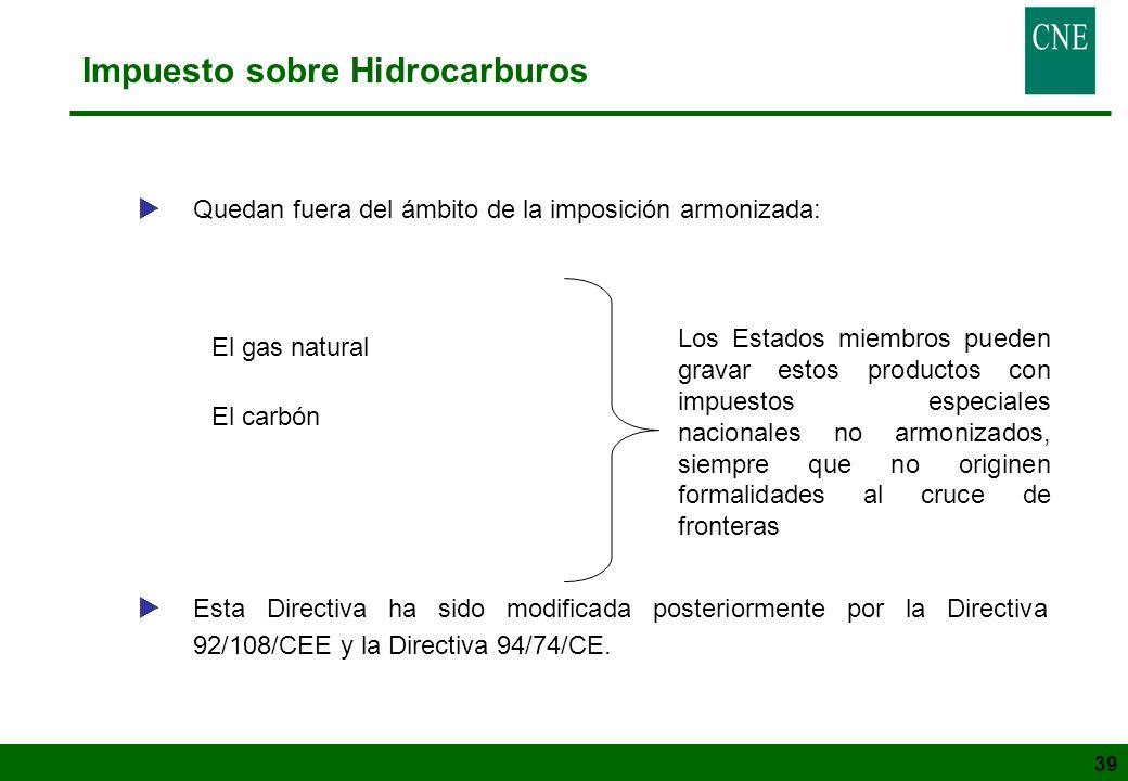 Impuesto sobre Hidrocarburos