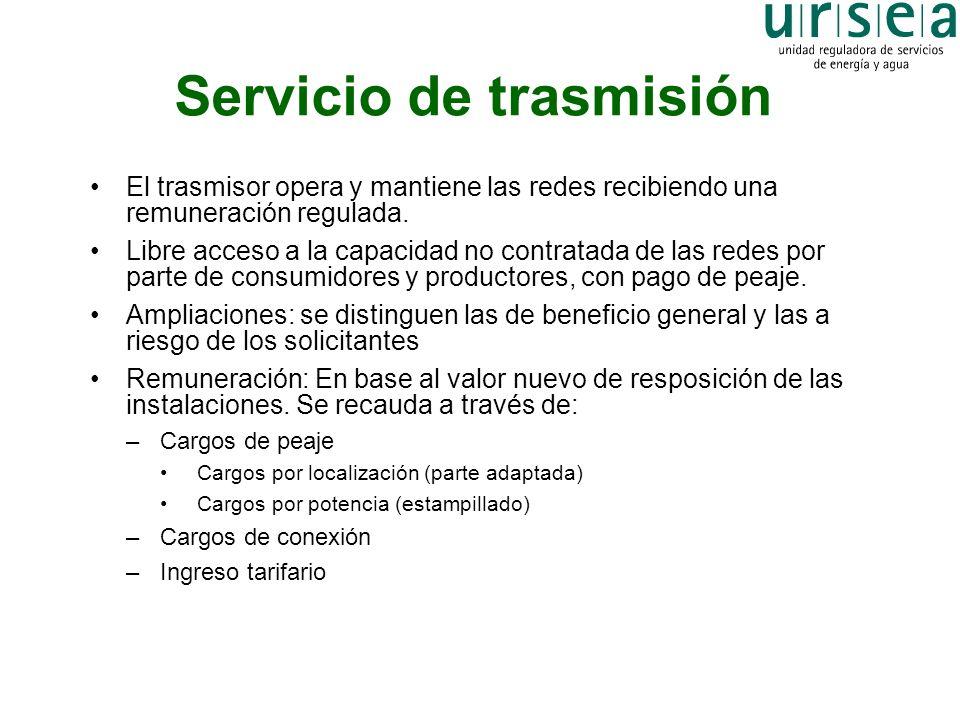 Servicio de trasmisión
