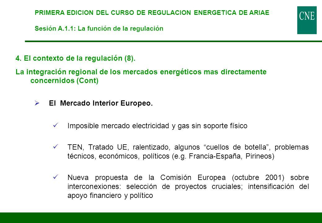 4. El contexto de la regulación (8).