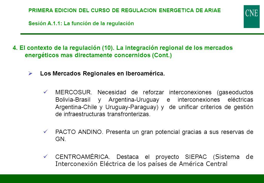 Los Mercados Regionales en Iberoamérica.
