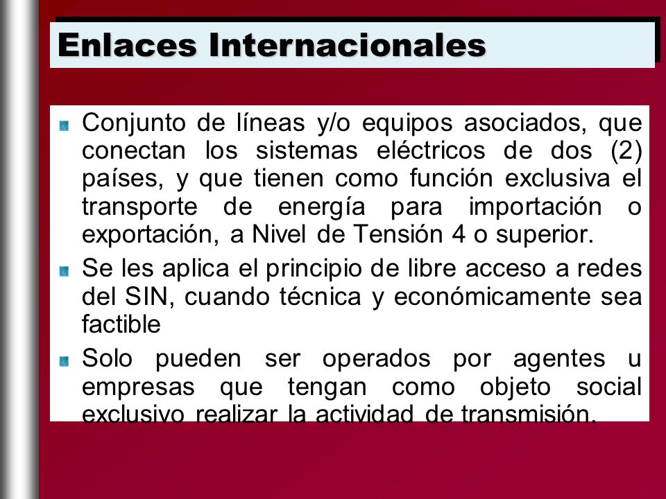 Enlaces Internacionales