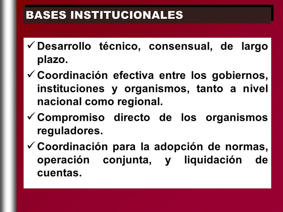 BASES INSTITUCIONALES