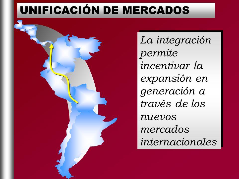 UNIFICACIÓN DE MERCADOS