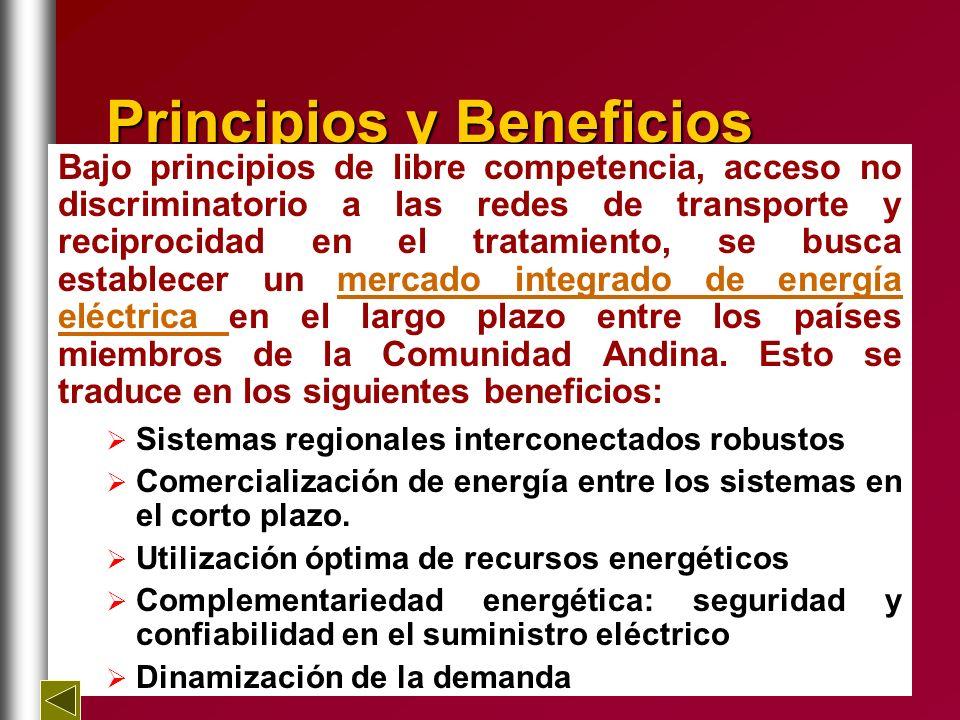 Principios y Beneficios