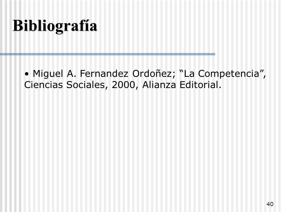 Bibliografía Miguel A.