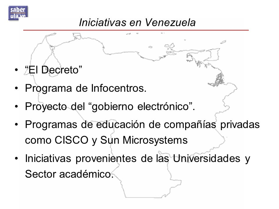 Iniciativas en Venezuela
