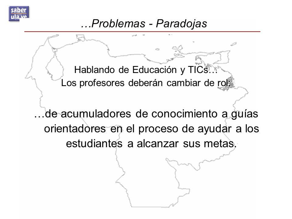 …Problemas - Paradojas