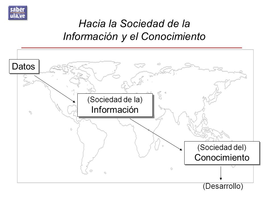 Hacia la Sociedad de la Información y el Conocimiento