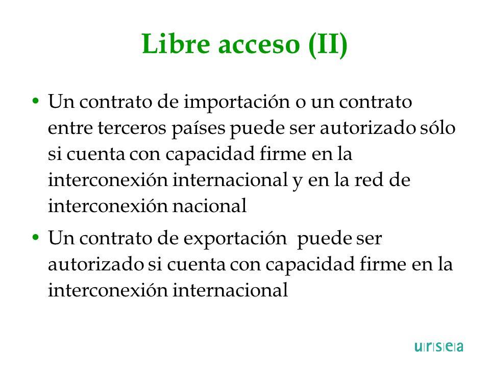 Libre acceso (II)