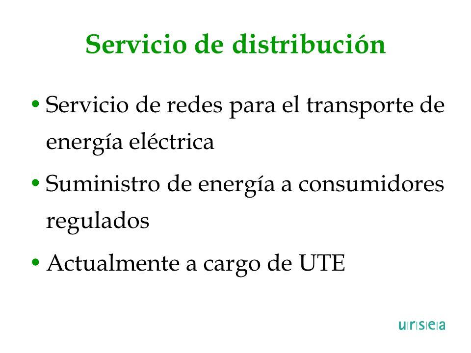 Servicio de distribución