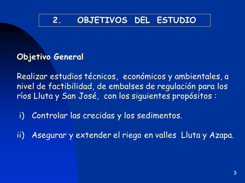 2. OBJETIVOS DEL ESTUDIO Objetivo General.