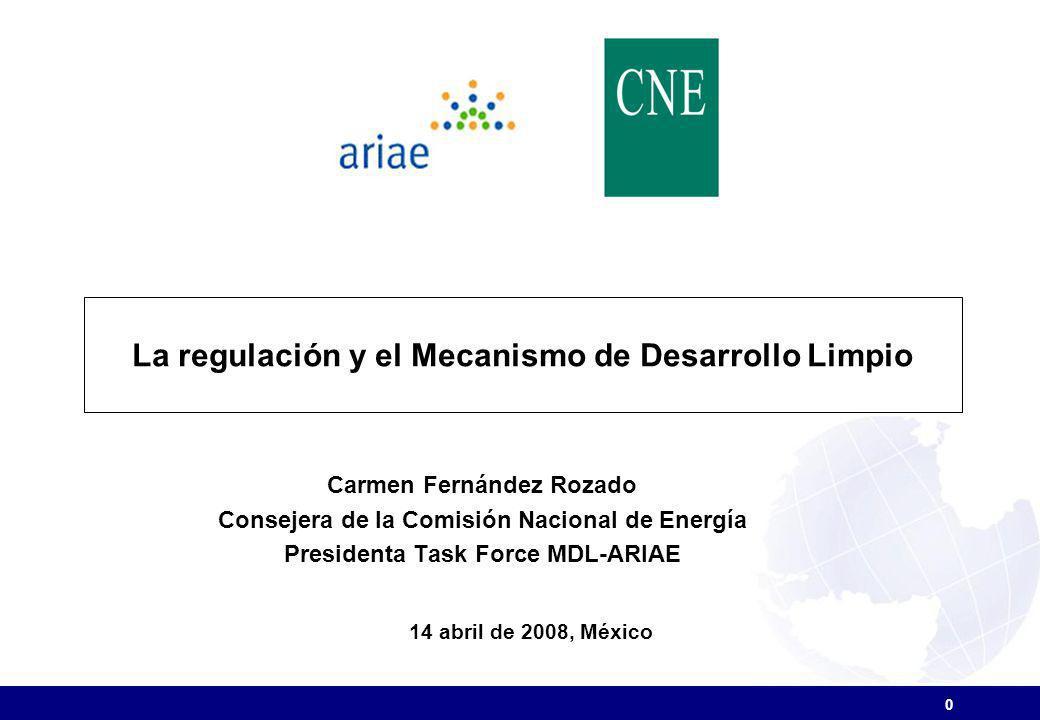 La regulación y el Mecanismo de Desarrollo Limpio