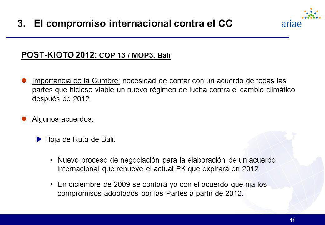 3. El compromiso internacional contra el CC