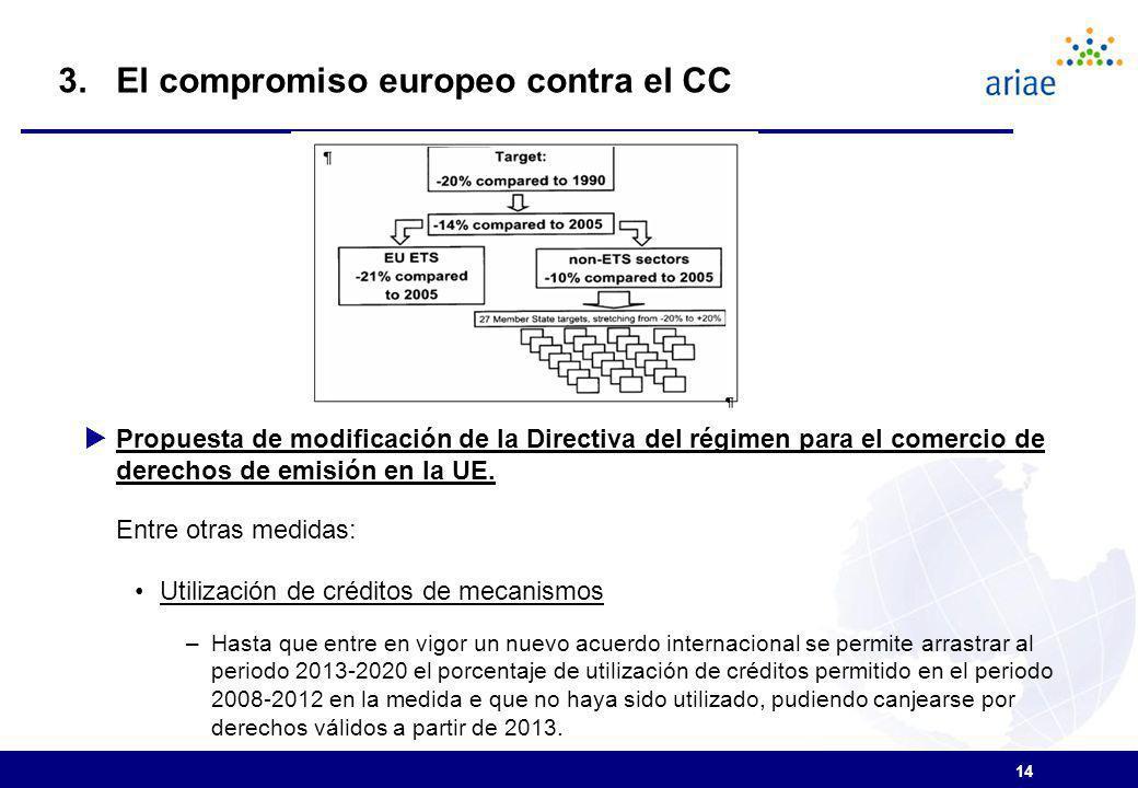 3. El compromiso europeo contra el CC