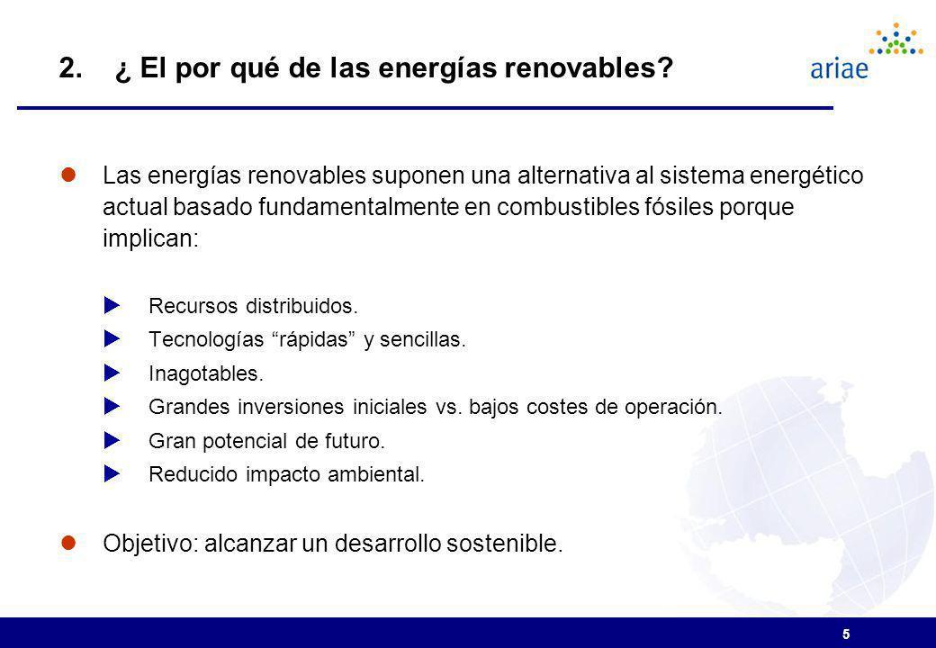 2. ¿ El por qué de las energías renovables