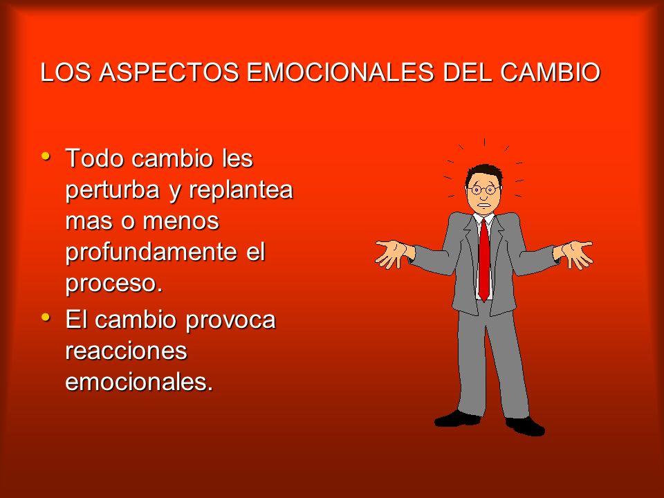 LOS ASPECTOS EMOCIONALES DEL CAMBIO