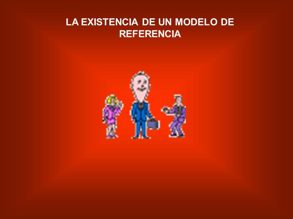 LA EXISTENCIA DE UN MODELO DE REFERENCIA