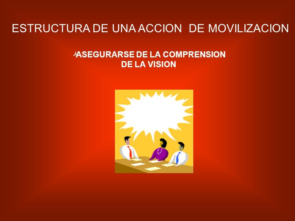 ASEGURARSE DE LA COMPRENSION DE LA VISION