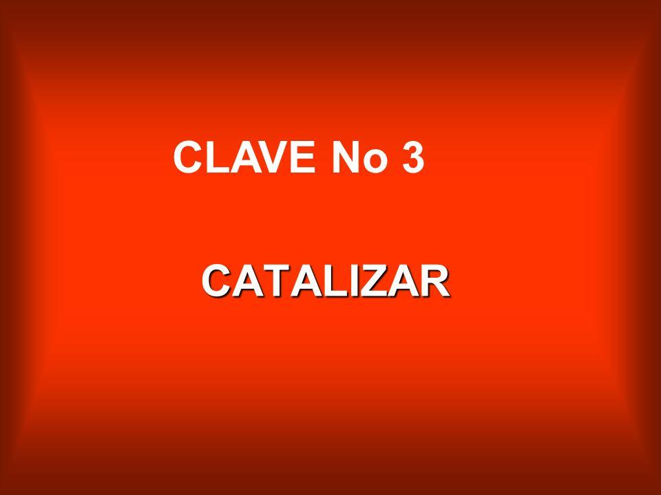 CLAVE No 3 CATALIZAR