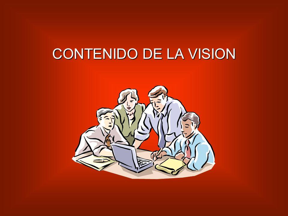 CONTENIDO DE LA VISION
