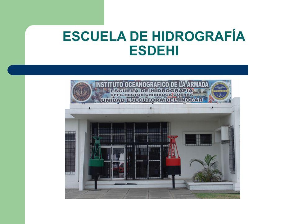 ESCUELA DE HIDROGRAFÍA ESDEHI