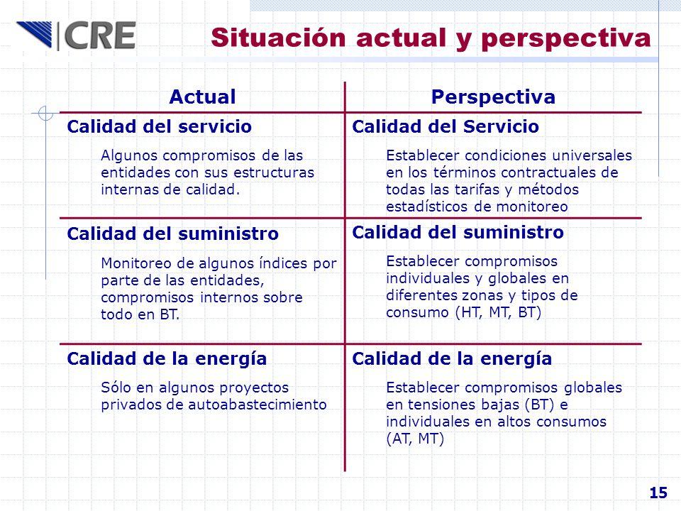 Situación actual y perspectiva