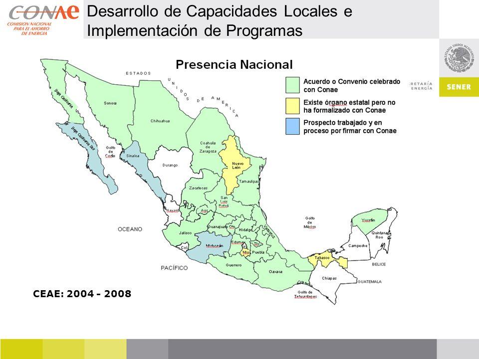 Desarrollo de Capacidades Locales e Implementación de Programas