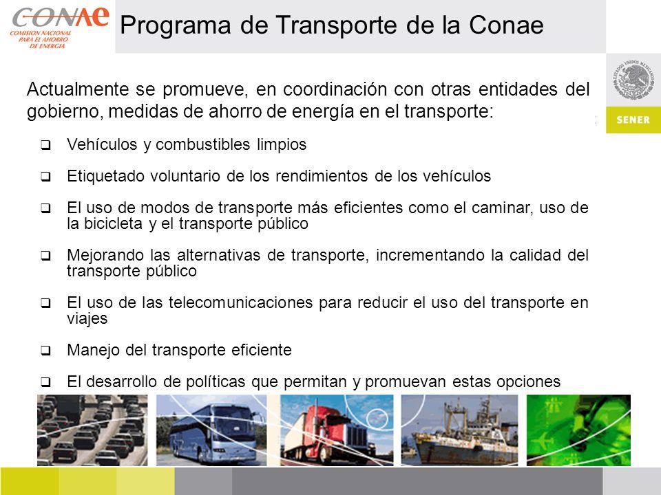 Programa de Transporte de la Conae