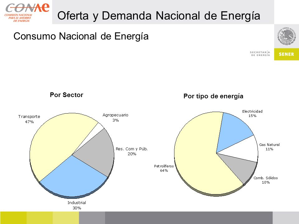 Oferta y Demanda Nacional de Energía