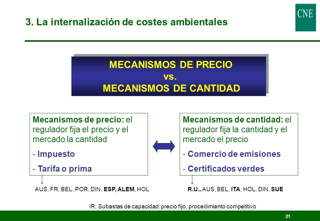 MECANISMOS DE CANTIDAD