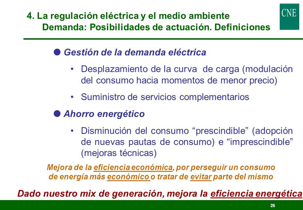 Dado nuestro mix de generación, mejora la eficiencia energética