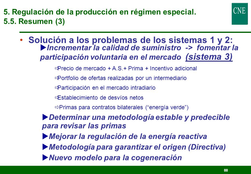 Solución a los problemas de los sistemas 1 y 2: