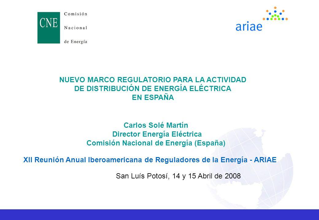 Director Energía Eléctrica Comisión Nacional de Energía (España)
